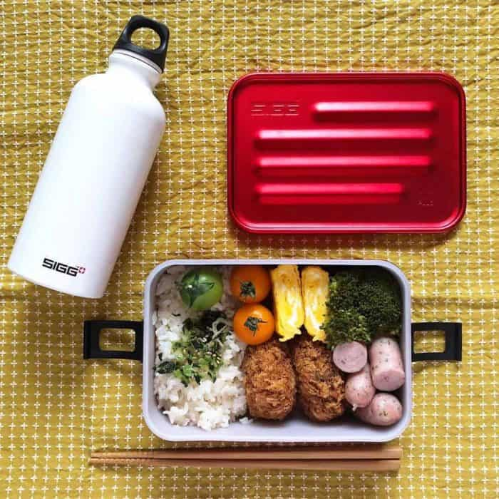 SIGG Metal Box Plus L Red